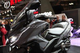 Kymco, le maxi-scooter taïwanais AK-550