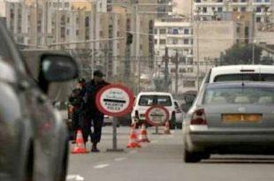 Les barrages sécuritaires sur les routes s'inscrivent