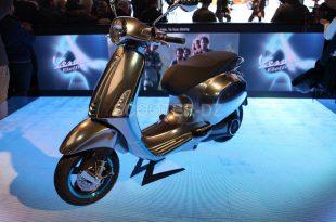Piaggio, scooter électrique avec la Vespa Electtrica