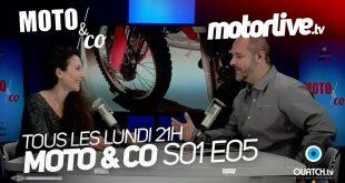 Moto and Co en ligne sur Motorlive.tv
