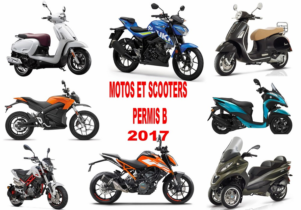motos scooters permis b 2017 roadsters sportives trails 3 roues et lectriques scooter dz. Black Bedroom Furniture Sets. Home Design Ideas