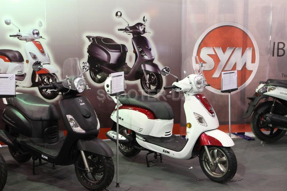 nouveautés Scooters / Motos 2017 avec SYM Algérie