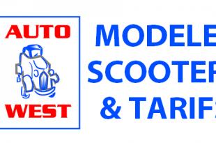 """#AutoWest2016 : liste et tarifs """"Scooters"""" et """"Motos"""""""
