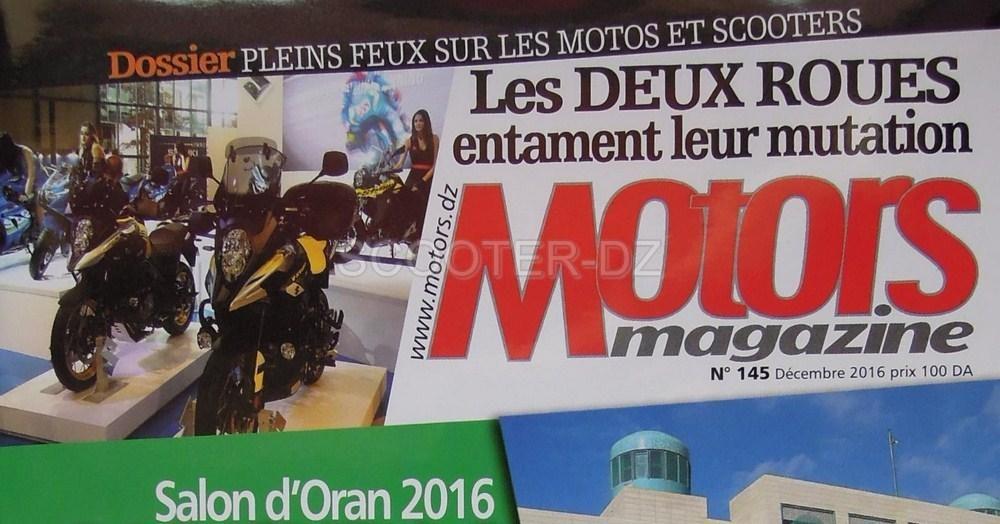 """Motors Magazine titre : """"Les 2 roues entament leur mutation"""" ..."""