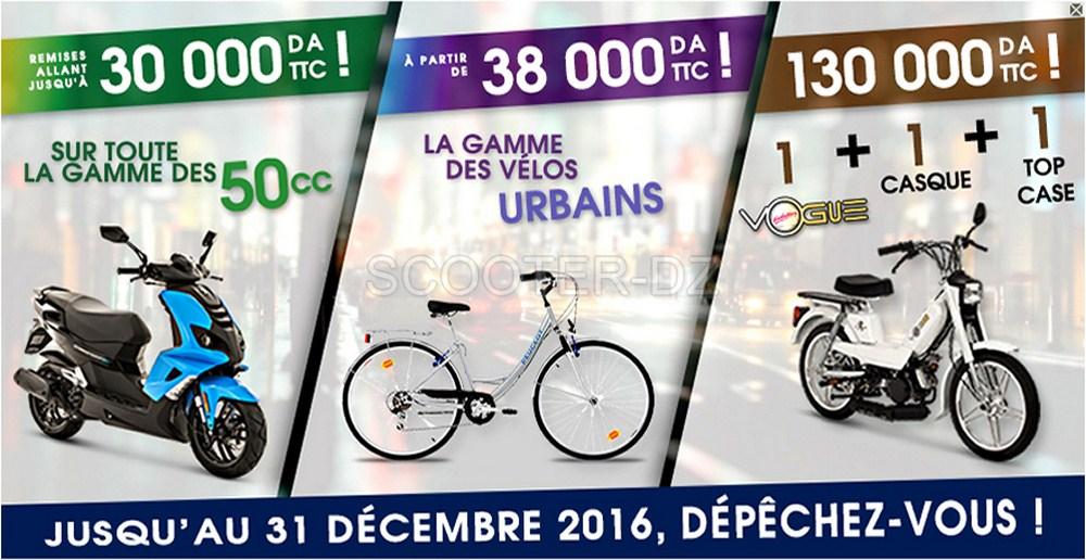 Peugeot Scooters Algérie : grosse promotion