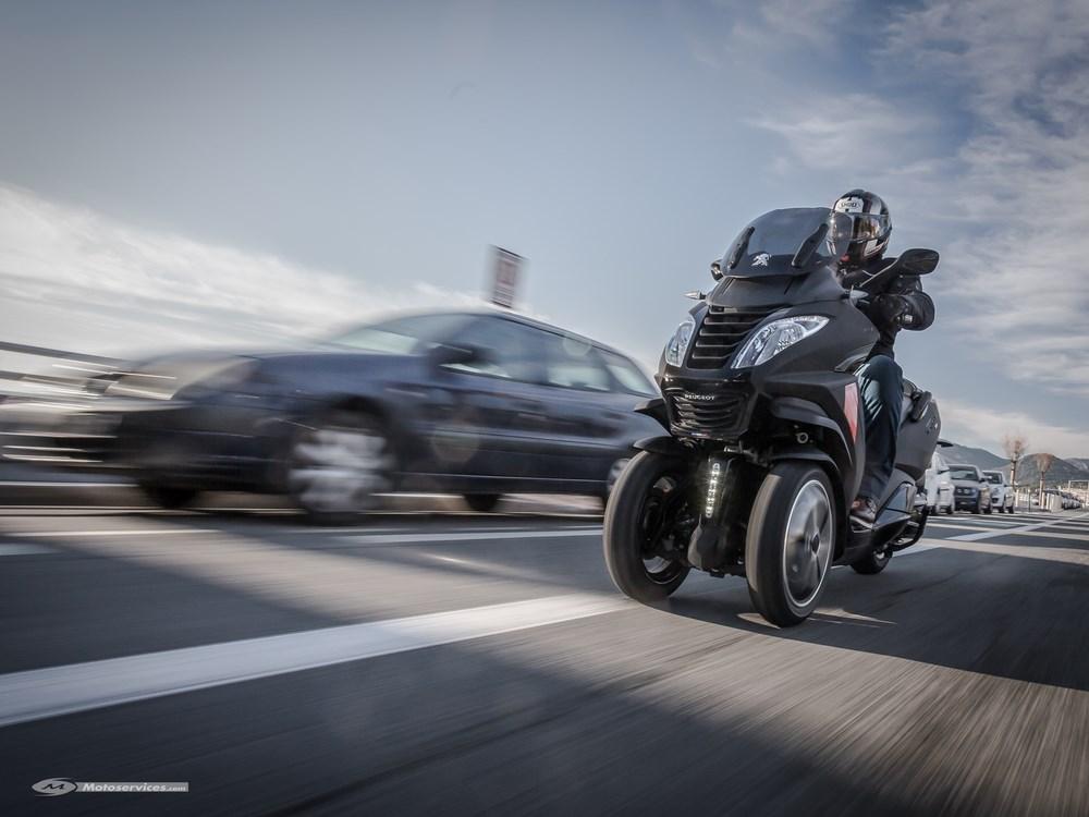 Essai Peugeot Metropolis RX-R 2017