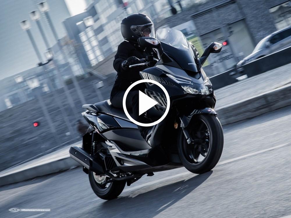 Honda Forza 125 2017 : Toutes les évolutions de la version Euro4 en images !