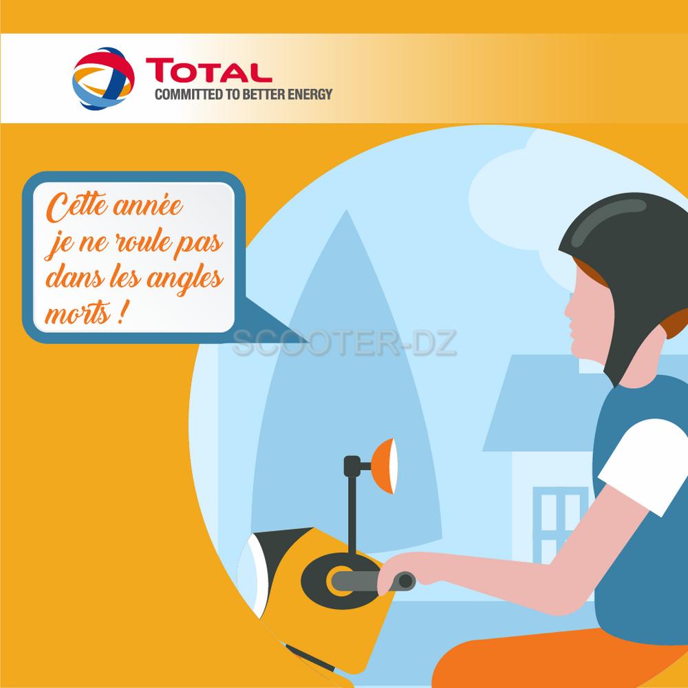 """Campagne """"Total Algérie"""" : les usagers de 2 roues ciblés ..."""
