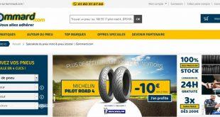 Gommard.com, un nouveau site aux prix dégonflés