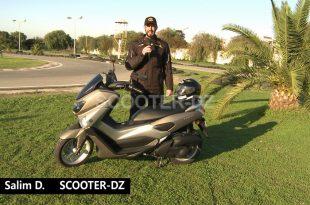 Yamaha Algérie : Essai du Yamaha NMax 125 ABS