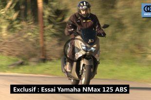 "Vidéo : Test scooter ""Yamaha NMax 125 ABS"" - Algérie"