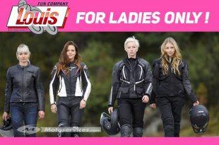 Les motardes : Louis Motos ouvre son rayon femme