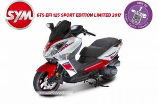 Sym GTS EFI 125 Sport Edition Limited 2017