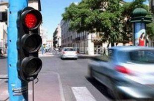 Gestion de la circulation à Alger