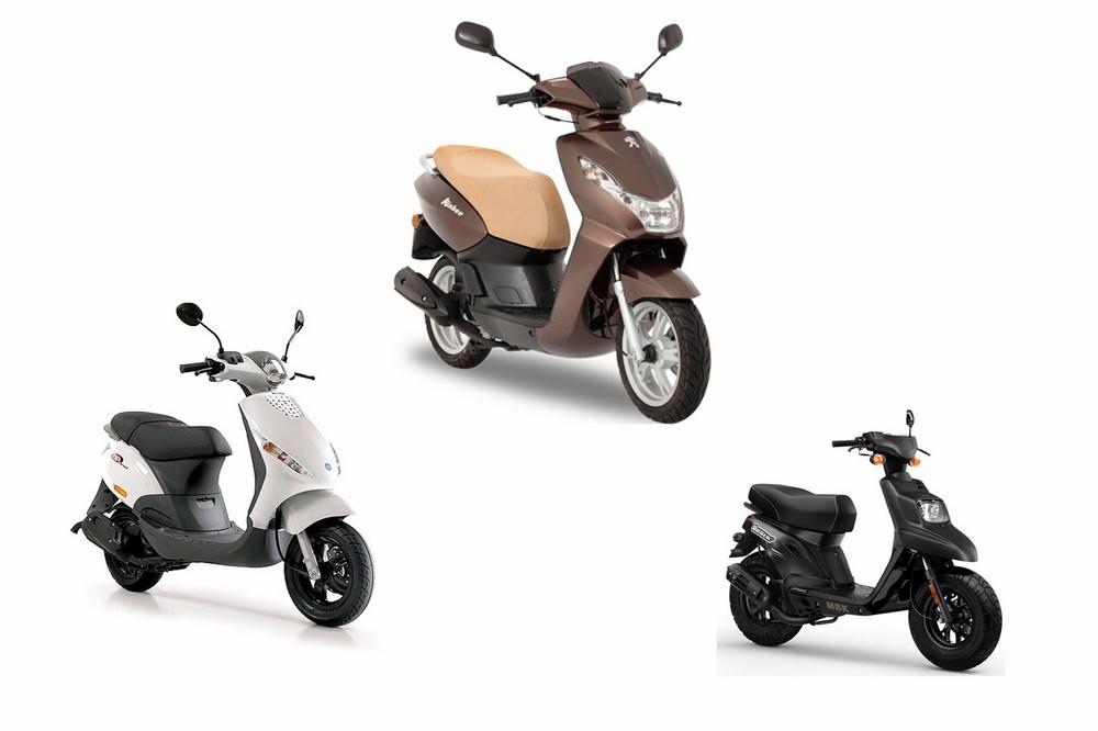 Marché scooter et moto 50 cm3 2016