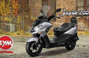 SYM Algérie : disponibilité SYM JoyRide 200i à 420.000 dinars
