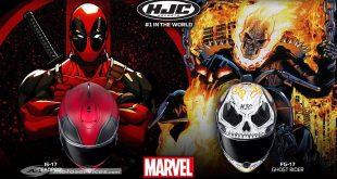 Casque HJC IS-17 Deadpool et FG-ST Ghost Rider