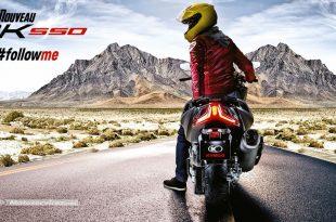 Jeu Kymco AK 550 : gagnez votre essai en avant-première