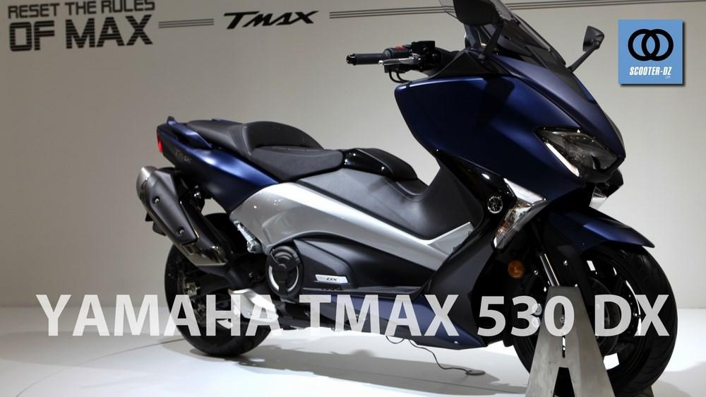 yamaha tmax 530 euro4 2017 arriv en europe scooter dz. Black Bedroom Furniture Sets. Home Design Ideas