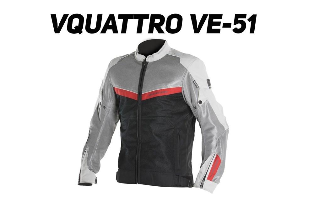 Vquattro VE-51 : blouson été bien ventilé
