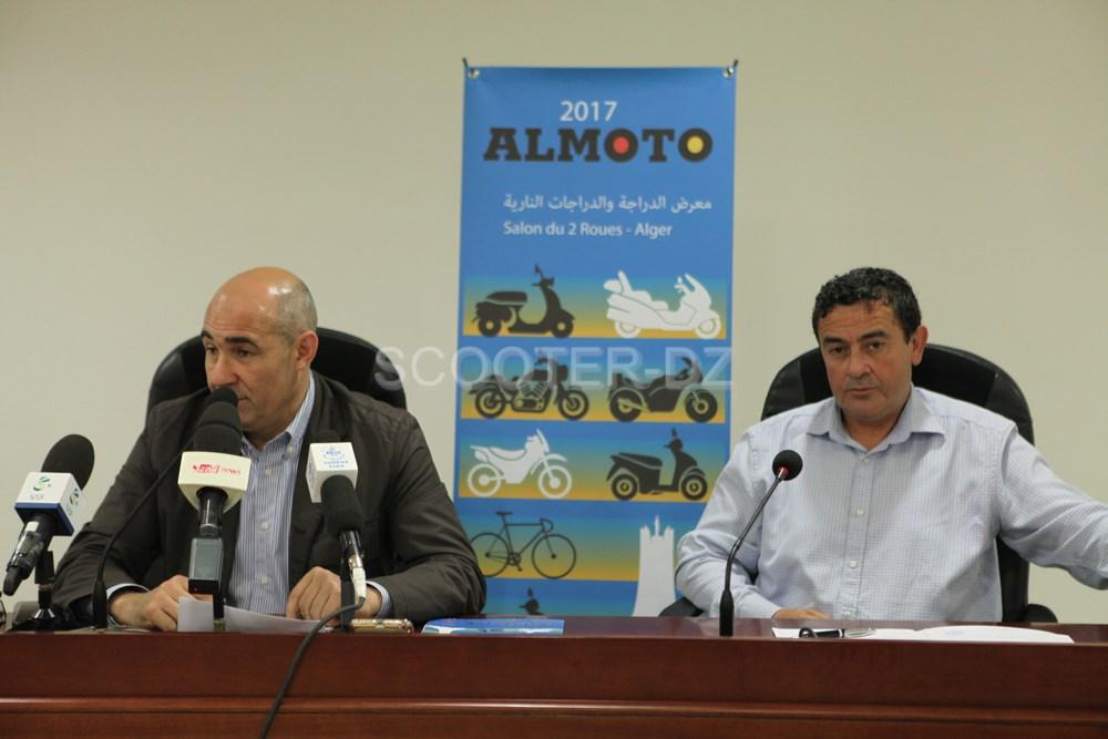"""ALMOTO 2017 : conférence de presse du """"Salon du 2 Roues d'Alger"""""""