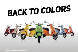 Back to colors : c'est le printemps chez Vespa