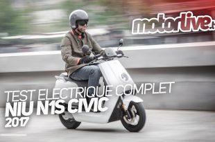 Vidéo Niu N1S Civic : électrique et citoyen