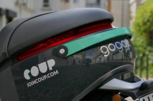 Lancement des e-scooters en libre-service COUP