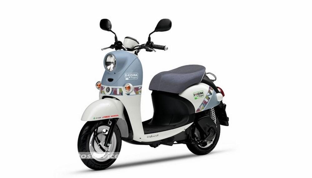 honda et yamaha collaborent pour la promotion de scooters lectriques au japon scooter dz. Black Bedroom Furniture Sets. Home Design Ideas