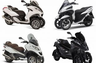 Marché scooters 3-roues août 2017
