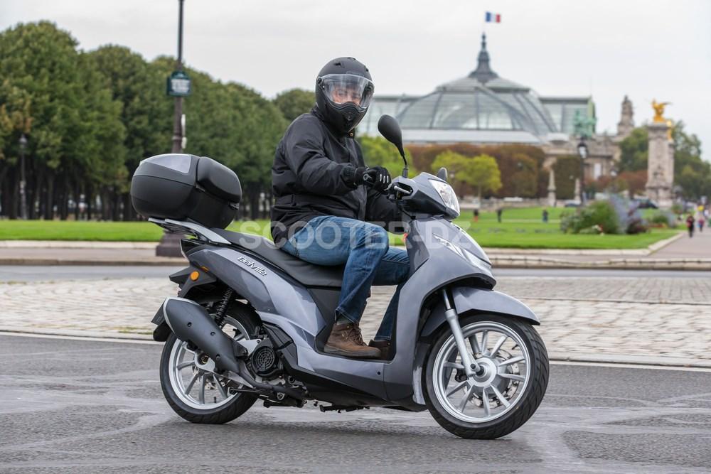 Peugeot Scooters : Lancement du Belville 125