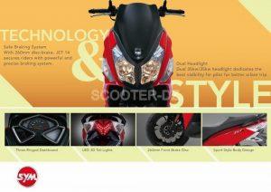 SYM Algérie : le JET 14 annoncé en version 200 cc