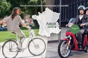 Askoll : une nouvelle boutique à Grenoble