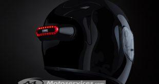 Cosmo Connected : le feu de freinage connecté sur votre casque