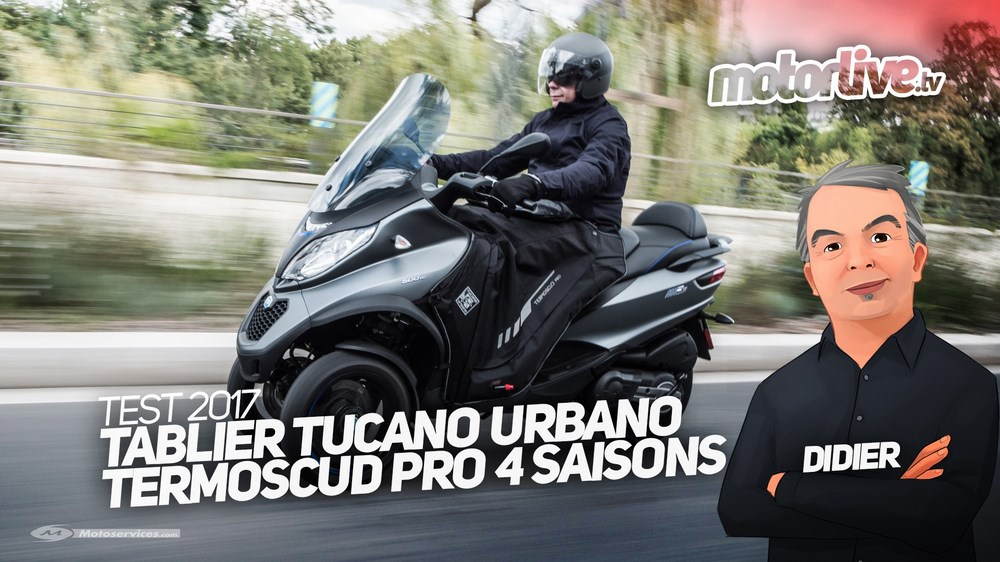 Test Tablier Tucano Urbano Termoscud Pro