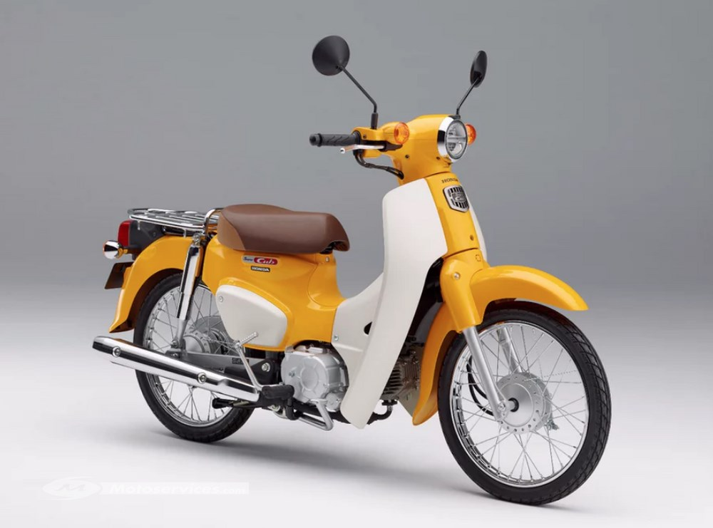 honda les super cub c125 110 et cross cub tokyo scooter dz. Black Bedroom Furniture Sets. Home Design Ideas