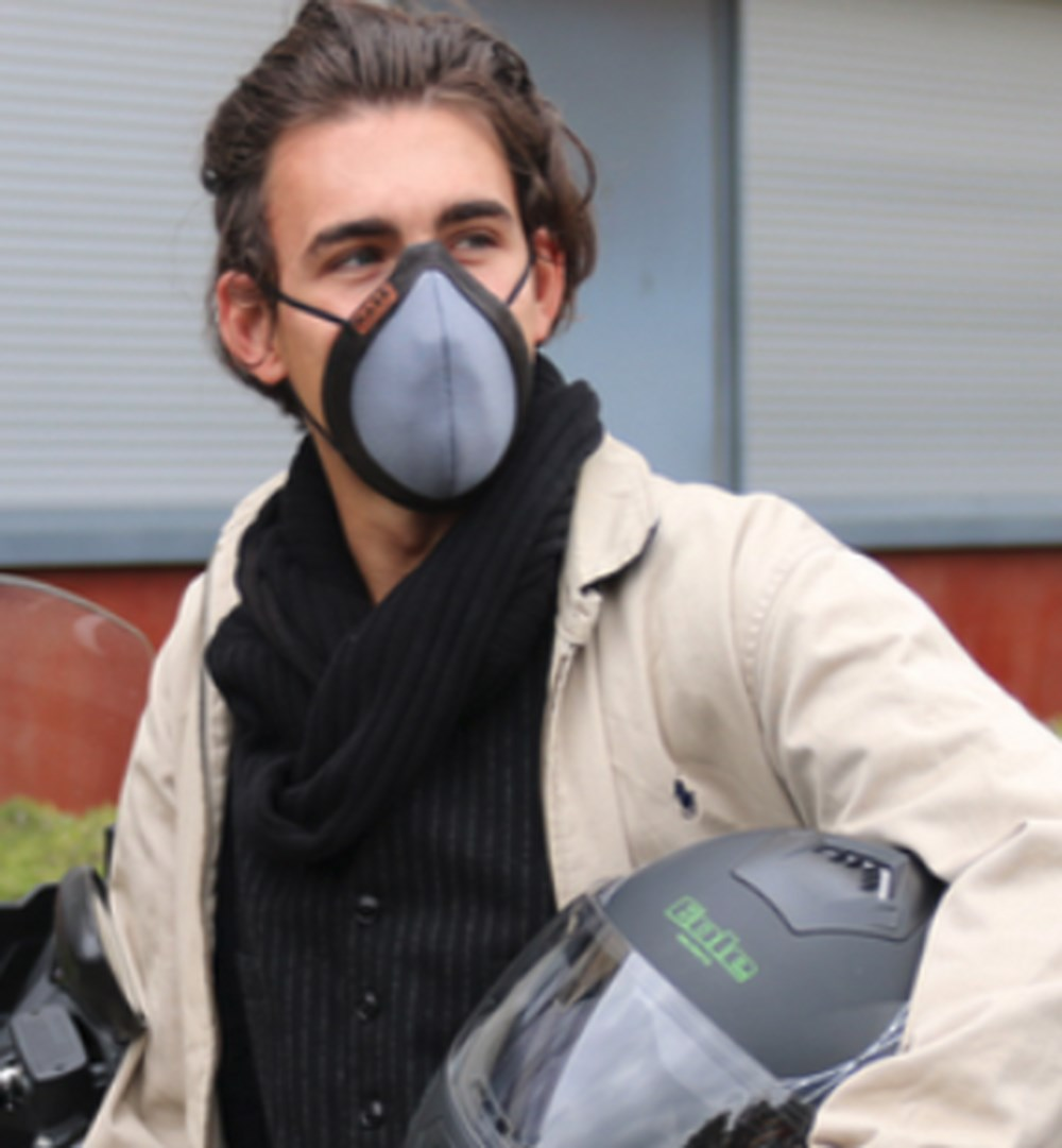 mask un nouveau masque antipollution pour motards et autres scooter dz. Black Bedroom Furniture Sets. Home Design Ideas