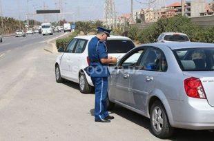 4000 retraits de permis de conduire et 3760 arrestations en septembre à Alger