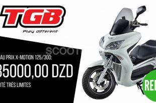 TGB X-Motion 125/300 cc