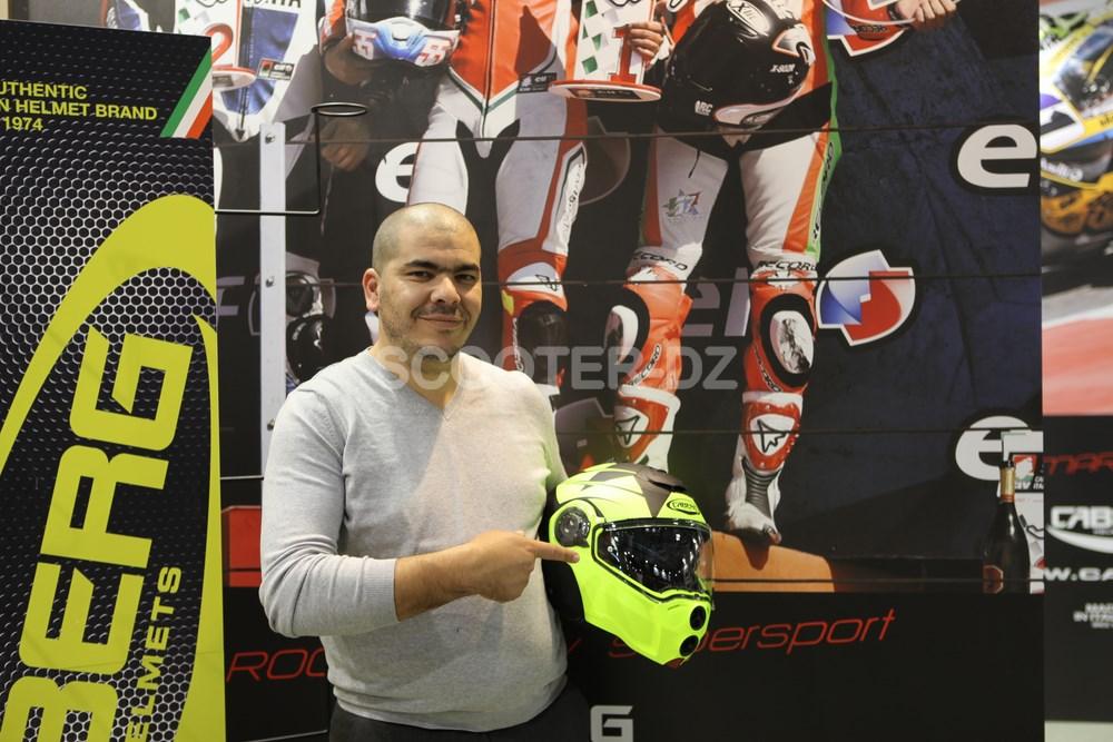 EICMA 2017 : nouveautés Caberg