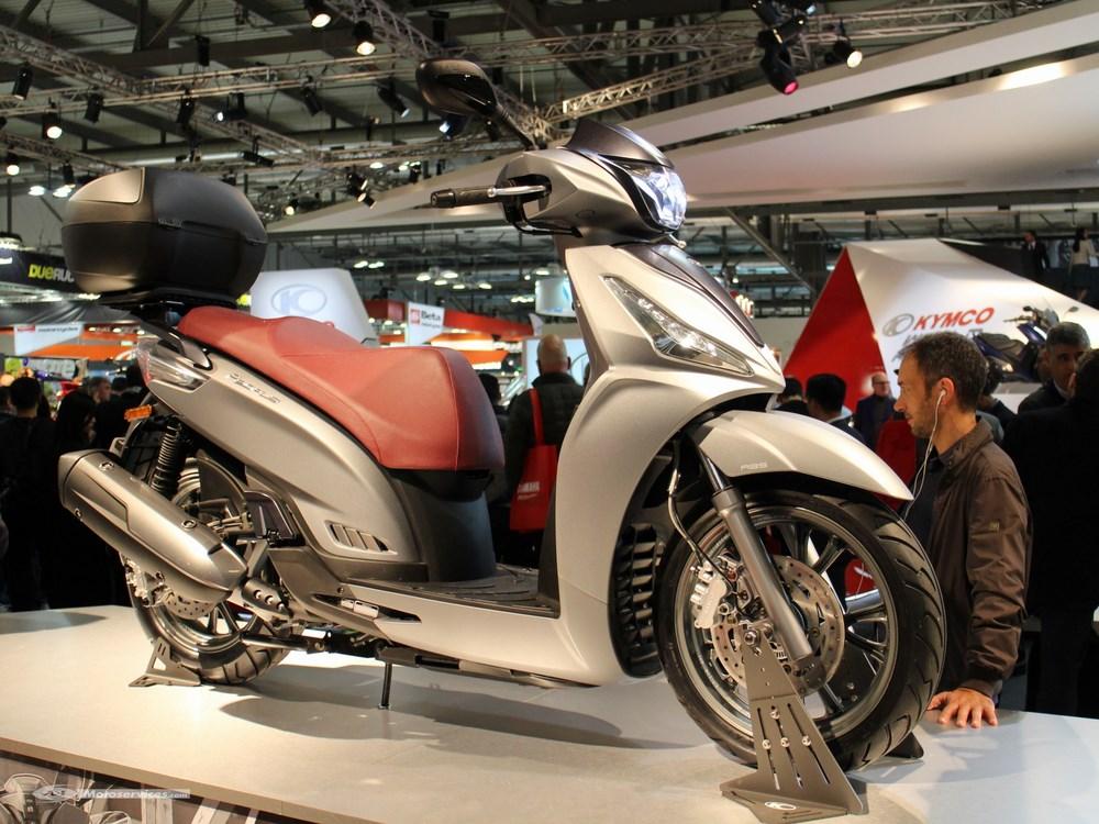 Fabuleux Kymco People S 125 : nouveau grandes roues pour 2018 | SCOOTER-DZ LN06