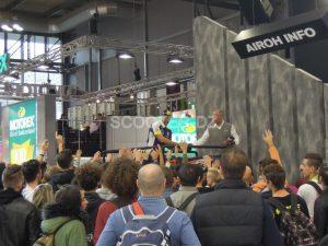 EICMA 2017 : nouveauté Airoh avec Sidi Achour Motos Pièces
