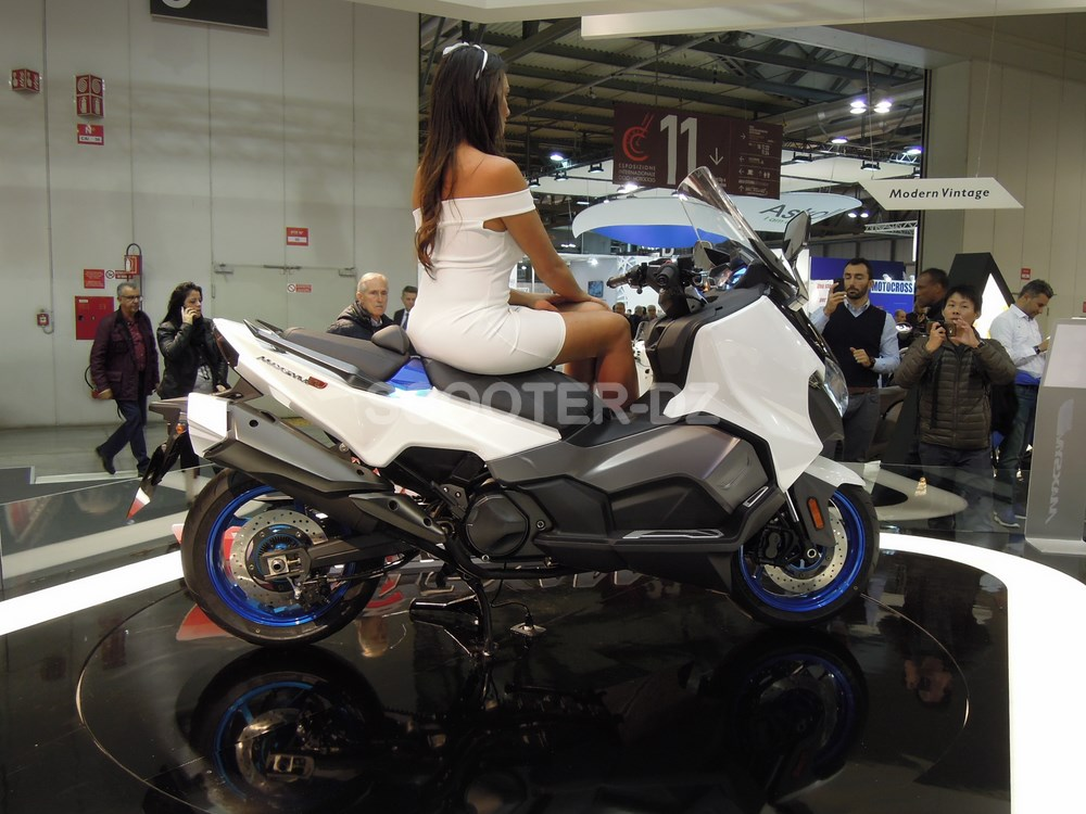 eicma 2017 6 nouveaut s sym pour 2018 au salon de milan scooter dz. Black Bedroom Furniture Sets. Home Design Ideas