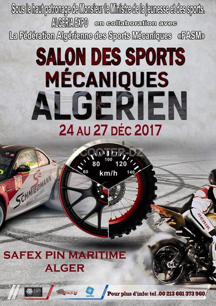 1er Salon des Sports Mécaniques annulé et reporté à 2018