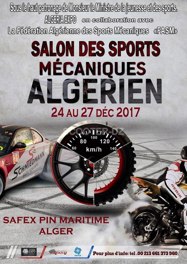 1er Salon des Sports Mécaniques en Algérie - Safex
