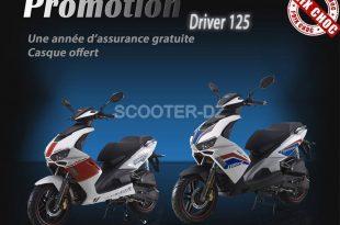 VMS Algérie : promotion sur le VMS Driver 125