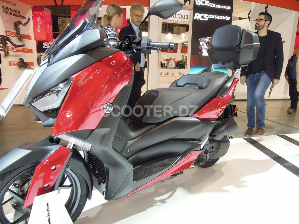 eicma 2017 nouveau yamaha xmax 125 scooter dz. Black Bedroom Furniture Sets. Home Design Ideas