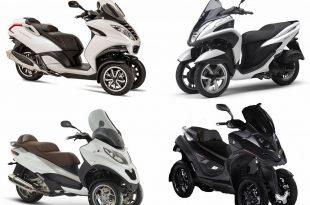 France : marché scooter 3-roues novembre 2017 : grise mine