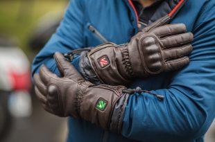 Test V Quattro Virago : des gants chauffants et vintage !