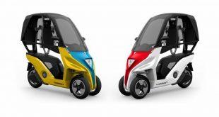 Torrot Velocipedo 2018 : le 3-roues électrique à toit venu d'Espagne